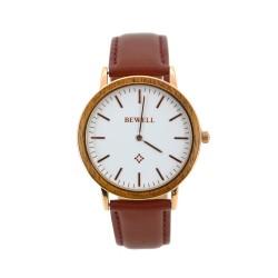 Деревянные часы Bewell ZS-W1051(zebra wood)