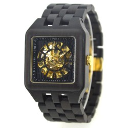 Деревянные часы Bewell ZS-W132B (ebony)