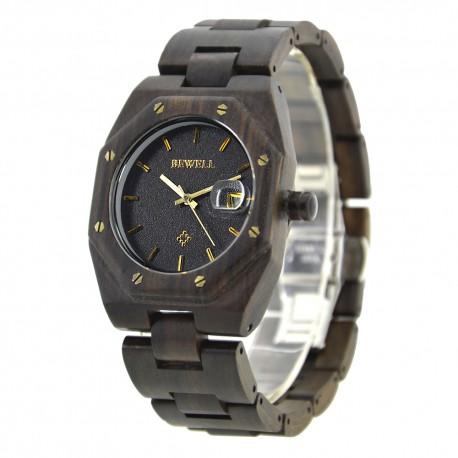 Деревянные часы Bewell ZS-W099A (black sandalwood)
