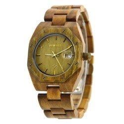 Деревянные часы Bewell ZS-W099A (green sandalwood)