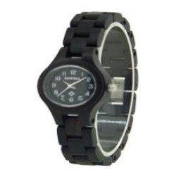 Деревянные часы Bewell ZS-W123A (ebony)