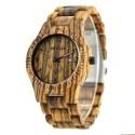 Деревянные часы Bewell ZS-W086B (zebra wood)