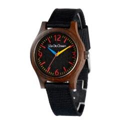 Деревянные часы Bewell ZS-2779-2 (black sandalwood)