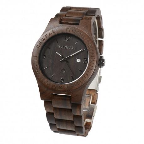 Деревянные часы Bewell ZS-W086B (red sandalwood)
