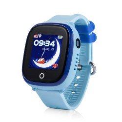 Детские водонепроницаемые часы с камерой GPS Baby Watch GW400X-wifi-blue (голубые)
