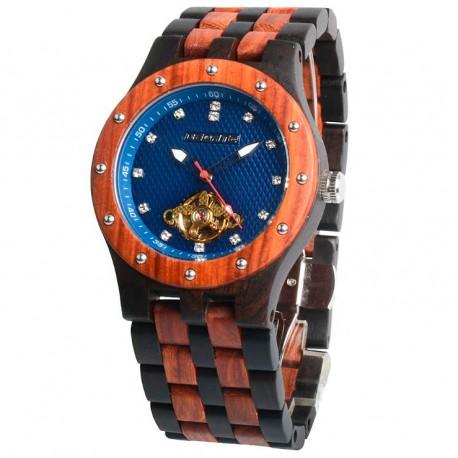 Деревянные часы Bewell ZS-131C (red sandal wood)