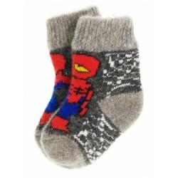 """Носки детские """"Супергерои"""" (Серый-асфальт, размер 1)"""