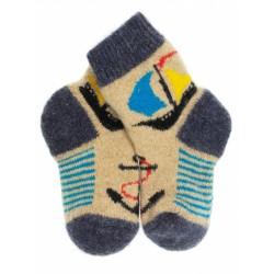 """Носки детские """"Корабль"""" (Джинс-песок, размер 2)"""