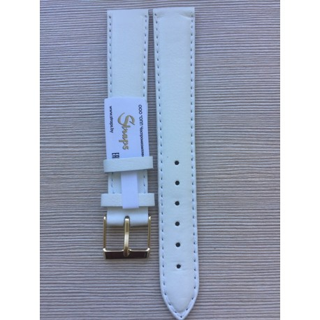 Ремень кожаный РК-18-05-02Д белый