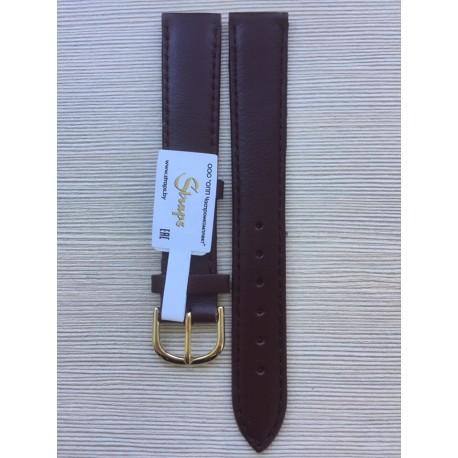 Ремень кожаный РК-18-05-02Д бордо