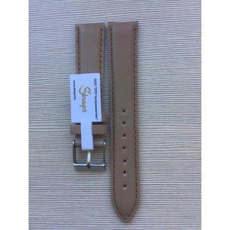 Ремень кожаный РК-18-07-01 св. коричневый