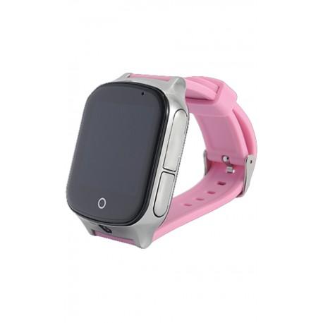 Детские часы с GPS GW1000S розовые