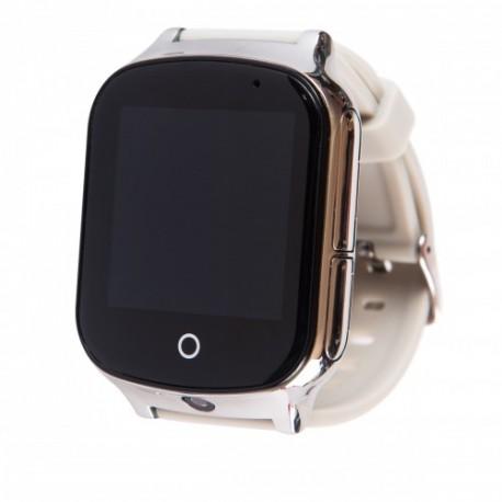 Детские часы с GPS GW1000S серые