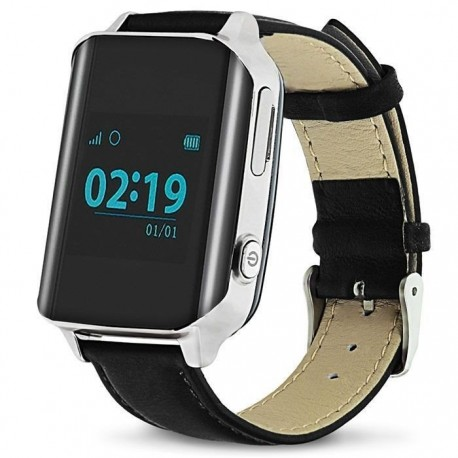 Взрослые часы с GPS EW200 черные