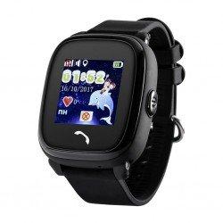 Детские GPS часы GW400S wi-fi черные