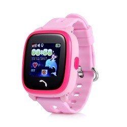 Детские GPS часы GW400S wi-fi розовые
