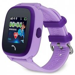 Детские GPS часы GW400S wi-fi фиолетовые