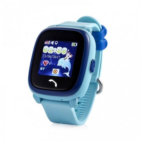 Детские умные часы с GPS трекером Smart Baby Watch GW400 голубые