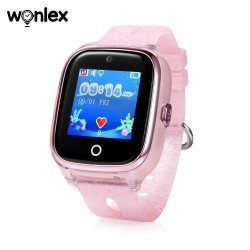 Детские часы KT01 WIFI Pink Розовые