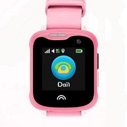 Детские часы KT05 Pink Розовые