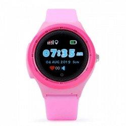 Детские GPS часы Wonlex Baby Watch KT06 (розовые)