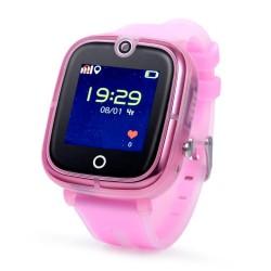 Детские GPS часы Wonlex Baby Watch KT07 (розовые)