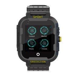 Детские GPS часы Wonlex Baby Watch KT12Z 4G (черные)