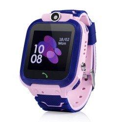 Детские GPS часы Wonlex Baby Watch GW600S (розовые)
