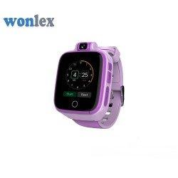 Детские GPS часы Wonlex Baby Watch GW4000 (розовые)