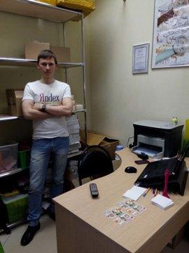 Руководитель Алексей Гостев.